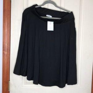 Black Amelia James Skirt with pockets
